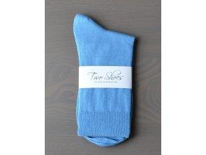 vyr 26svetle modre panske ponozky two shoes 1